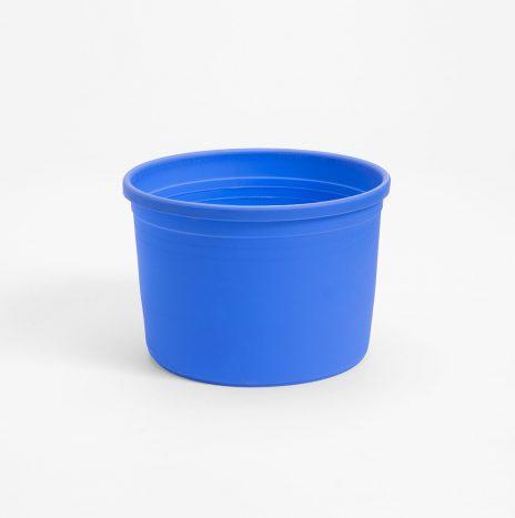 Tarrina plástico con reborde ø15